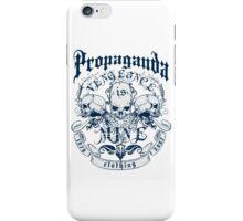 Propaganda Vengeance Is Mine iPhone Case/Skin