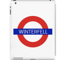 Winterfell Station - Game Of Thrones iPad Case/Skin