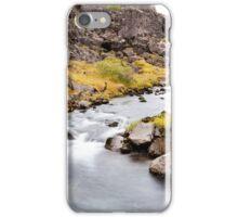 Icelandic landscape iPhone Case/Skin