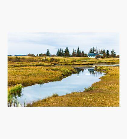 Thingvellir national park, Iceland Photographic Print