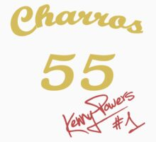 """Charros 55"" Kenny Powers Nr.1 by tragbar"