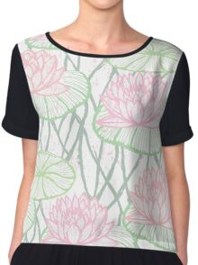 Sweet Lotus Chiffon Top
