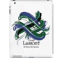 Clan Lamont - Prefer your gift on Black/White tell us at info@tangledtartan.com  iPad Case/Skin