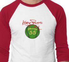 """Charros 55 Baseball"" Kenny Powers #1 Men's Baseball ¾ T-Shirt"
