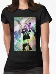 Defenders of the universe Womens Fitted T-Shirt