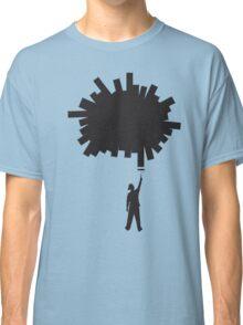Paint a Hole (silhouette) Classic T-Shirt
