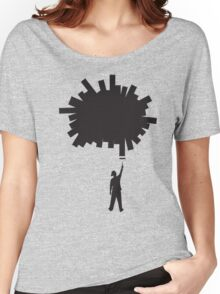 Paint a Hole (silhouette) Women's Relaxed Fit T-Shirt