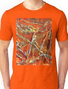 Fire Dancing Abstract Unisex T-Shirt