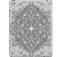 Vintage Winter Monochrome Doodle iPad Case/Skin