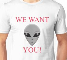 WE WANT YOU Unisex T-Shirt