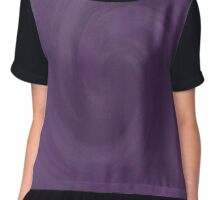 Purple swirl Chiffon Top