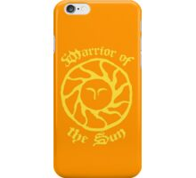 Warrior of the Sun iPhone Case/Skin