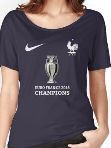 Jersey France Champions Women's Relaxed Fit T-Shirt