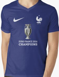 Jersey France Champions Mens V-Neck T-Shirt
