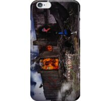 door to hell iPhone Case/Skin