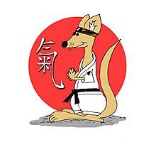 Karate Kämpfer Chi Photographic Print