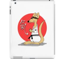 Karate Kämpfer Chi iPad Case/Skin