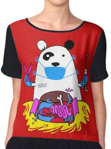 Panda MD Chiffon Top