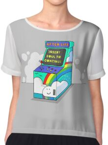 AFTER LIFE its not a game Chiffon Top