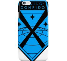 XCOM Project Staff Shirt iPhone Case/Skin
