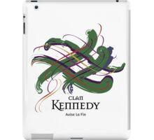 Clan Kennedy - Prefer your gift on Black/White tell us at info@tangledtartan.com  iPad Case/Skin