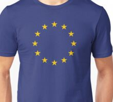 EU Flag T-shirt - Europe - I love the European Union Unisex T-Shirt