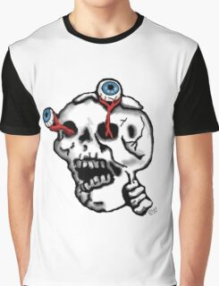 Skull and eyes  Graphic T-Shirt