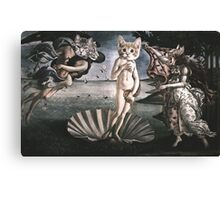 Primavera Cats Canvas Print