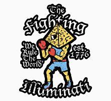 The Fighting Illuminati Men's Baseball ¾ T-Shirt
