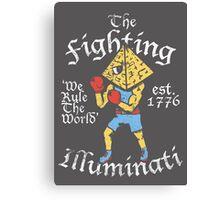 The Fighting Illuminati Canvas Print