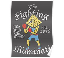 The Fighting Illuminati Poster