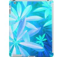 Tropical neon foliage print iPad Case/Skin
