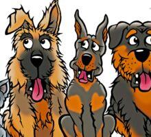 Euthanize B.S.L!  Not innocent dogs! Sticker