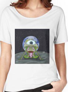 Alien Moon Landing Women's Relaxed Fit T-Shirt