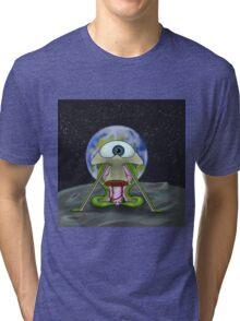 Alien Moon Landing Tri-blend T-Shirt