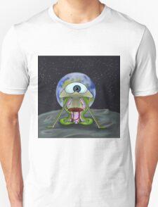 Alien Moon Landing Unisex T-Shirt