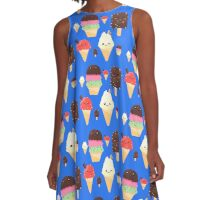 Simply Delicious Ice Cream Art A-Line Dress