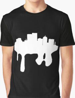 melting city- white Graphic T-Shirt