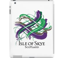 Isle of Skye - Prefer your gift on Black/White tell us at info@tangledtartan.com  iPad Case/Skin
