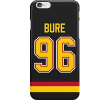 Vancouver Canucks Pavel Bure Jersey Back Phone Case iPhone Case/Skin