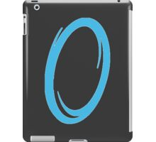 Blue portal iPad Case/Skin