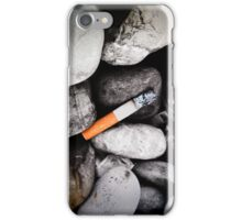 butt on stones iPhone Case/Skin