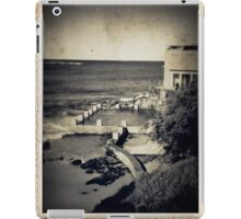 the seaside ~ a nostalgic study III iPad Case/Skin
