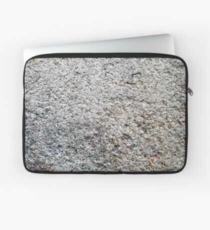 Rough Concrete Texture Laptop Sleeve