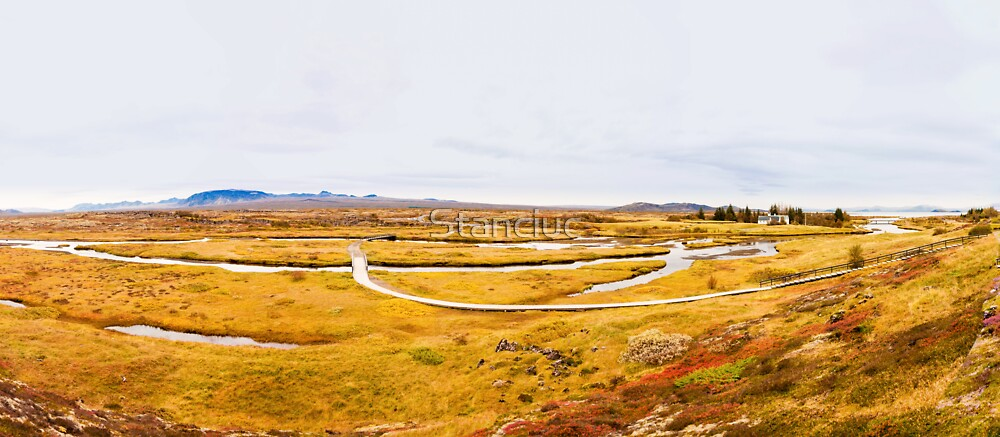 Thingvellir national park, Iceland by Stanciuc