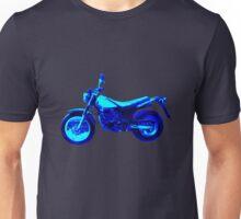 Motorrad blue Unisex T-Shirt