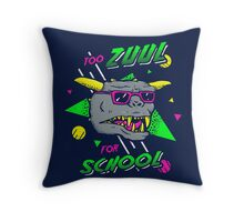 Too Zuul For School Throw Pillow