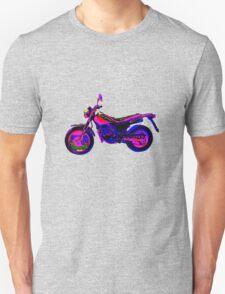 Motorrad psychedelisch Unisex T-Shirt