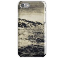 the seaside ~ a nostalgic study I iPhone Case/Skin