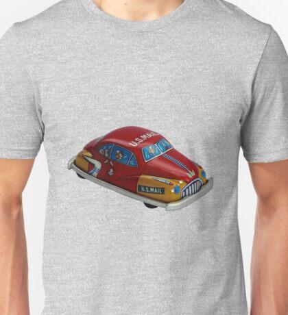 Tin Toy - US Mail Car Unisex T-Shirt